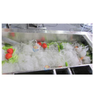 Automatic Food Vegetable Washing Cleaning Machine/ Production Line Washer pictures & photos