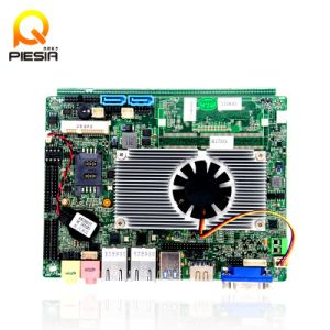 Fanless J1900 Quad Core Processor Lvds Motherboard for Industrial Computer PC pictures & photos