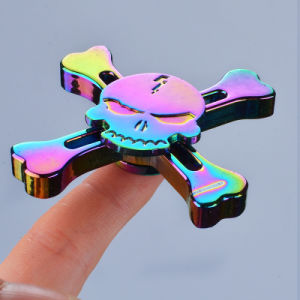 Adhd Aniexty Autism Stress Reducer Rainbow Windmill Metal Fidget Spinner pictures & photos