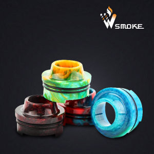 Colorful Limitless Resin Drip Tip Wire Bore Can OEM Logo