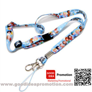 Lanyard with Retractable Badge Holder Reel for ID Cards pictures & photos