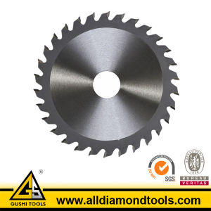 Brazed Tct Circular Saw Blade for Cutting Wood pictures & photos