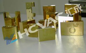 Metal Door Handle Lock Keys PVD Titanium Gold Ion Coating Machine pictures & photos