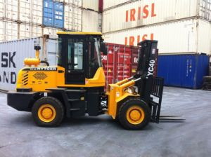 4X4 Rough Terrain Forklift for Sale All Terrain Forklift Truck pictures & photos