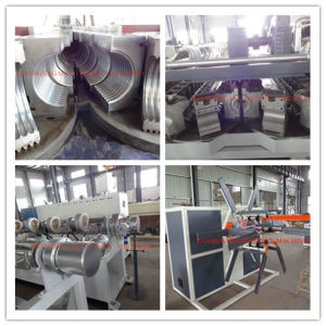 PVC Corrugated Pipe Extrusion Machine pictures & photos