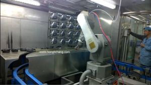 Turnkey Robot Automatic Spray Painting Plant for Car Spare Parts pictures & photos