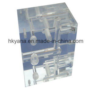 Manufacturer Custom PMMA/PC/Acrylic CNC Machined Parts pictures & photos