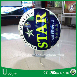 High Quality Aluminum Forming LED Advertising Embossed Beer Light Box pictures & photos