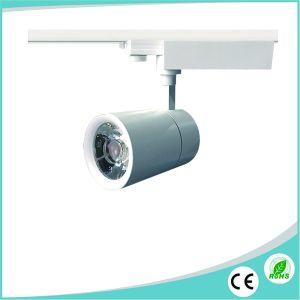 Aluminium Black/White Housing 25W COB LED Ceiling Track Light pictures & photos