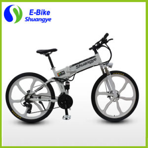Shuangye Newest Ce 250W Electric Bicycle Folding Ebike pictures & photos