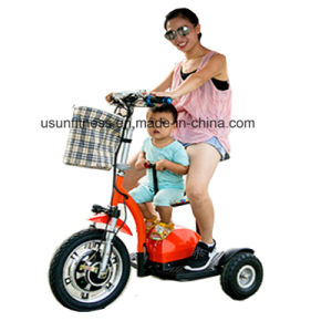 2017 Hot Sale Foldable 3 Wheel Electric Scooter Mobility Scooter with Ce pictures & photos