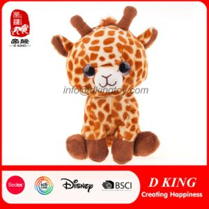 Sitting Cute Plush Giraffe Stuffed Soft Toy Animal with Big Eyes pictures & photos