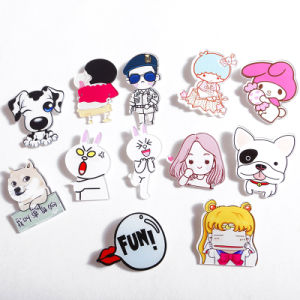 High Quality Metal Soft Enamel Iron Zinc Alloy Lapel Pin pictures & photos