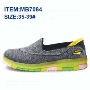 Latest Women Slip-on Sports Casual Shoes Walking Shoes Wholesale (MB9040) pictures & photos