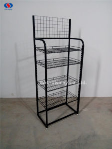 Customized Floor Standing Metal Wire Display Rack pictures & photos