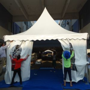 4X4m Aluminium PVC Pagoda Party Canopy Tent Gazebo pictures & photos