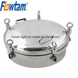 Food Grade Stainless Steel Tank Manhole Cover (pressure type) pictures & photos