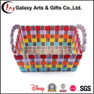 Durable Eco-Friendly PP Polyester Webbing Woven Strap Storage Basket Bin pictures & photos