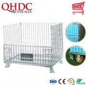 Foldable Wire Mesh Store Cage (SC-C)