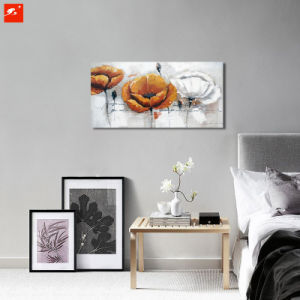 Detailed Flower Wall Art Handmade Oil Painting pictures & photos