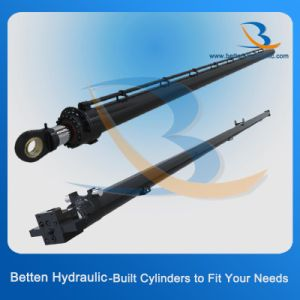 Welded Piston Telescoping Hydraulic Oil Cylinder pictures & photos