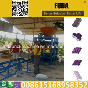 Qt4-24 Manual Block Forming Machine in Cote d′Ivoire pictures & photos