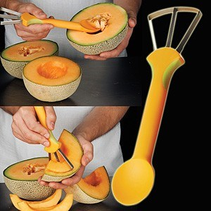 Cute Yellow Melon Seeder & Slicer pictures & photos