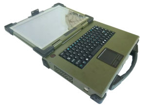 14.1 inch Portable Rugged Military Computer case pictures & photos