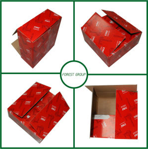 Red Color Printing Corrugated Carton Box Packaging pictures & photos