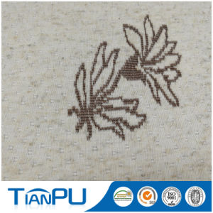 180-550GSM Customized Jacquard Logo Available Fire Retarded (other treatment available) Mattress Ticking Fabric Tp232 pictures & photos