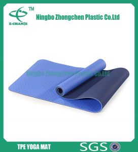 TPE Foldng Yoga Mat Pilates Mat Fitness Mat pictures & photos
