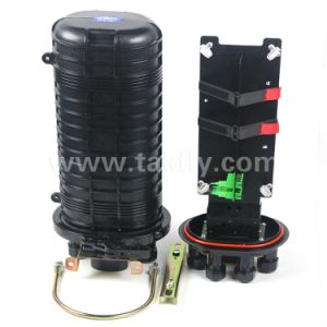 48 Cores Vertical Dome Mechanical Sealing Fiber Optic Joint Closure pictures & photos