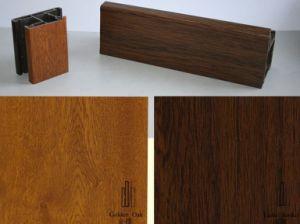 Anti-UV Wooden Grain Decorative Foil/Film for U-PVC Profiles pictures & photos