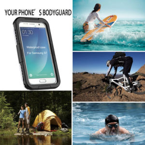 Waterproof Diving Threeproof Case for Samsung S7 Edge pictures & photos