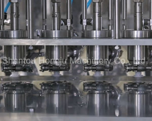 Paste Sauce Filling and Capping Machine for Spouted Plastic Pouch pictures & photos