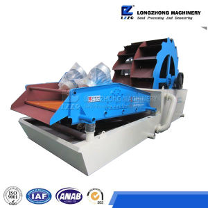 High Quality Bucket Sand Washing Machine with Dewatering Screen pictures & photos