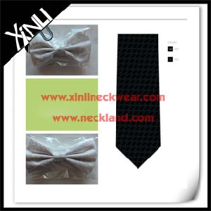 100% Silk Jacquard Woven Silk Bow Tie Masonic Goods pictures & photos