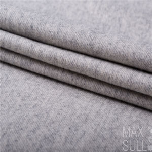 Wool/Cotton Fabric for Autumn or Winter Coat in Gray pictures & photos