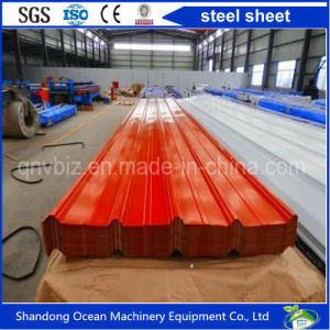 Profiled Steel Roofing Sheet Corrugated by PPGI Steel Sheet Yx25-205-1025 with Competitive Price From China pictures & photos