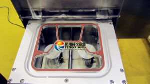 Fs-600 Semi-Automatic Salad Cup/Tray Sealing Machine pictures & photos