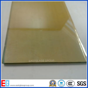 4mm 5mm 6mm 24k Golden Reflective Glass / Offline Reflective Glass