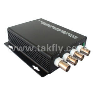 Sdi VGA 1080P Sm 20km 4CH Optical Fiber Video Converter pictures & photos