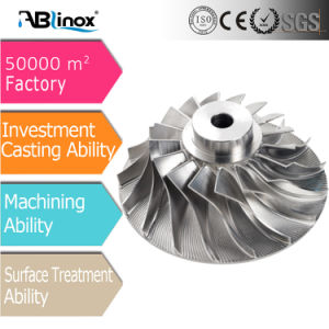 Ablinox Casting Stainless Steel Water Pump Impeller pictures & photos