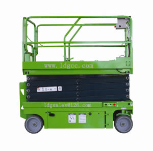 320kg 10meters Automatic Electric Scissor Lift with QZYG100-32