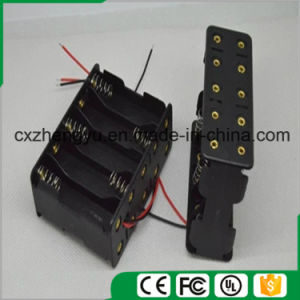10AA Back to Back Battery Holder with Red/Black Wire Leads pictures & photos