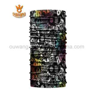100%Microfiber Polyester Multifunctional Custom Seamless Bandana pictures & photos