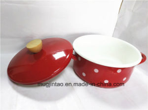 Enamel Pot Enamelware Pan Cooking Pot pictures & photos