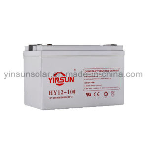12V 100ah Solar Lead-Acid Battery for Solar Power System pictures & photos