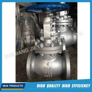 Carbon Steel A216 Wcb Flanged Globe Valve pictures & photos