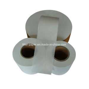 High Quality White 23GSM Biodegradable Heat Sealable Tea Bag Filter Paper pictures & photos